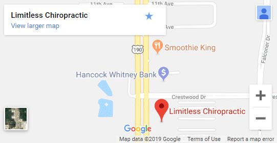 Map of Covington Chiropractors