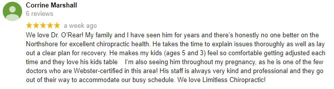 Limitless Chiropractic Patient Testimonial